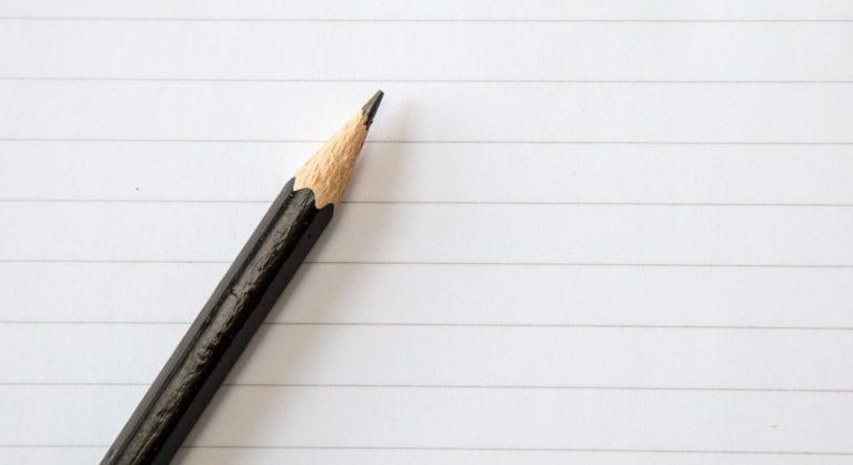 Lápis e papel